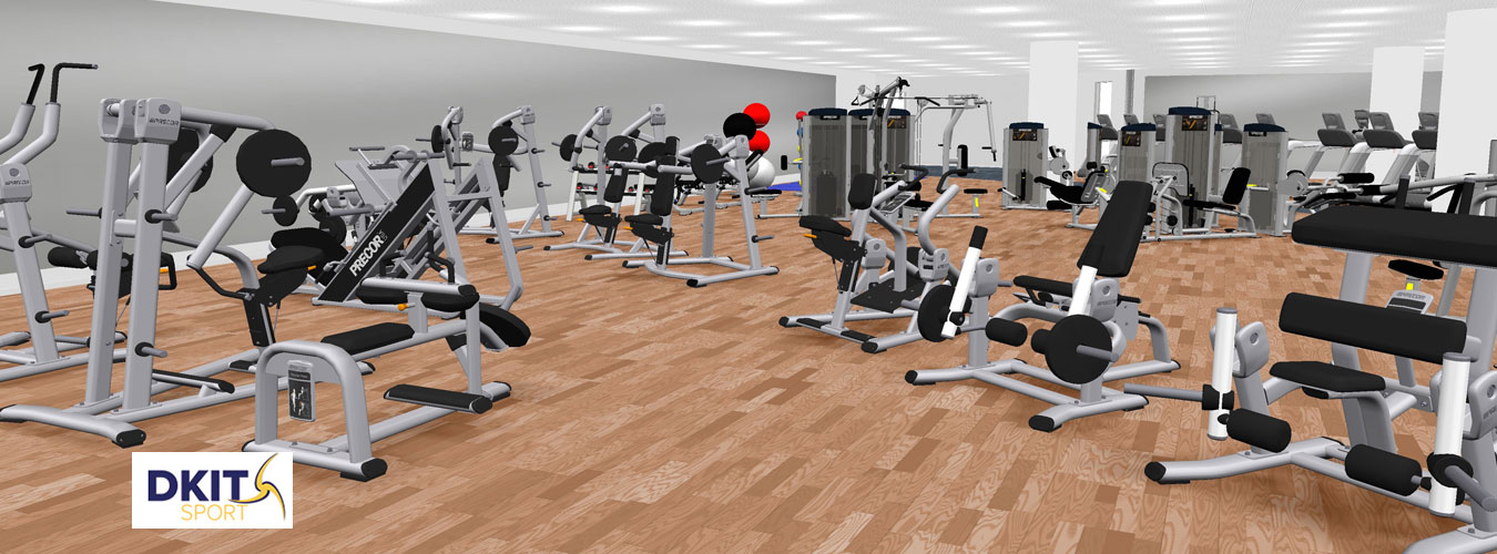 3D Design: 3D Designs for Gyms In Ireland - DKIT