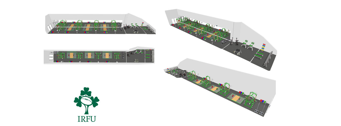 3D Design: 3D Designs for Gyms In Ireland - IRFU