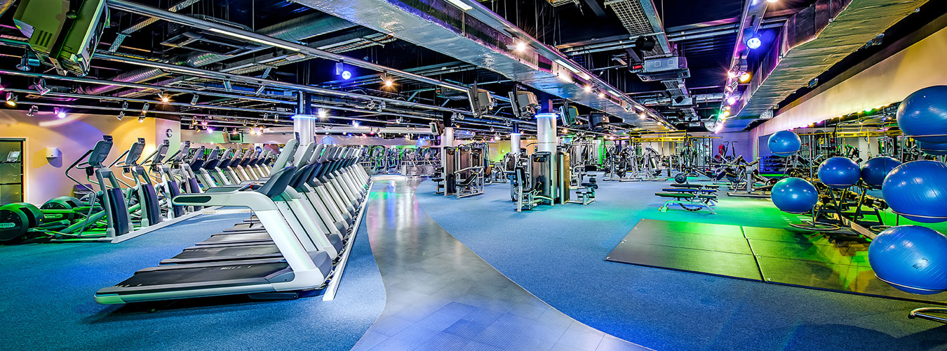 Interior design for commercial gym