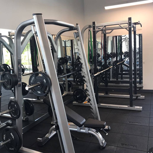 Power Racks: Johnson & Johnson Vistakon - Staff Gym